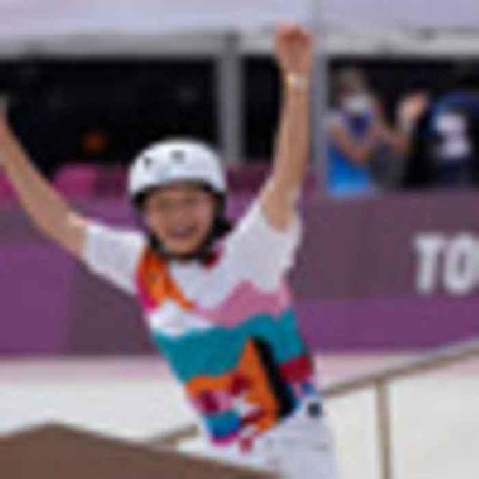 Tokyo Olympics 2020: 13-year-old Momiji Nishiya of Japan wins skateboard gold