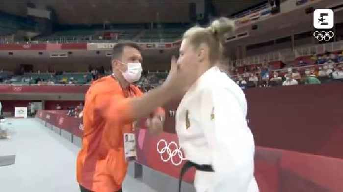 Olympic German Judo Competitor Defends Coach's Face-Slap Warmup Tactic (Video)