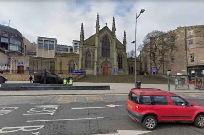 Praying priest attacked with broken bottle by thug inside Scots cathedral