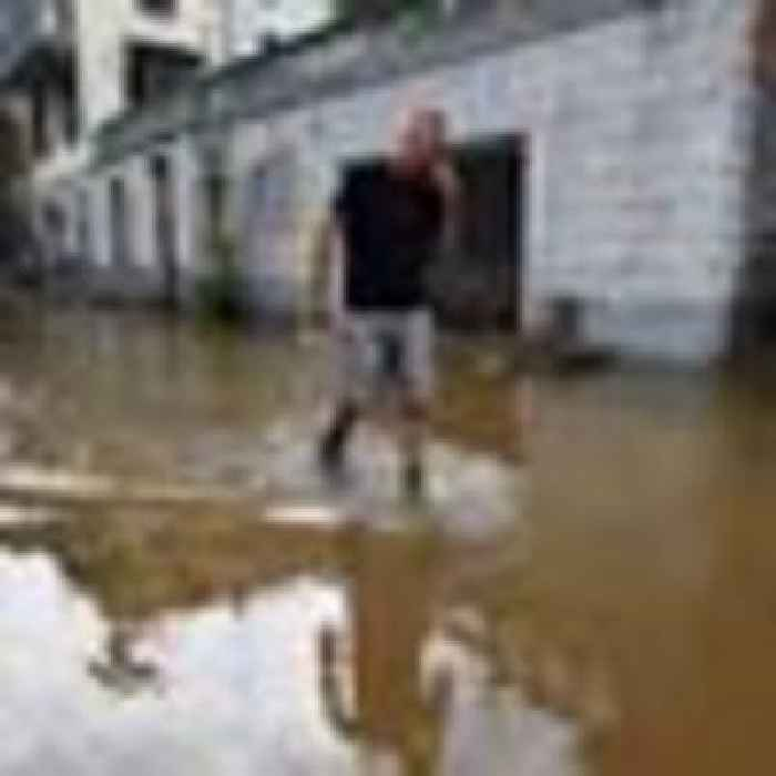 Dozens rescued after towns around Italy's Lake Como hit by landslides and flooding