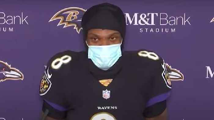 NFL Star Lamar Jackson Tests Positive for Covid-19 Second Time, Will Miss Start of Training Camp