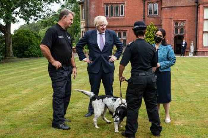 PM backs Priti Patel in row with police over pay freeze