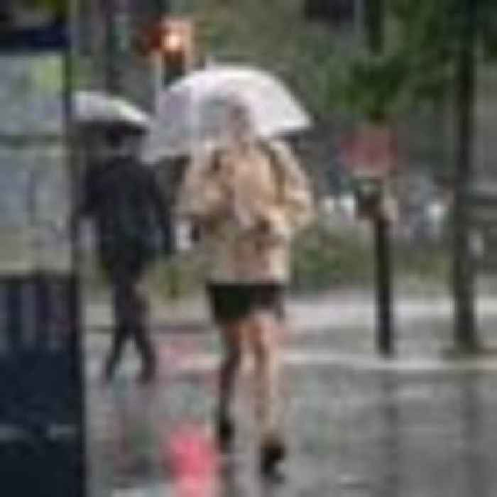 More storms to come for parts of UK after downpours, lightning and hail 'the size of peas'