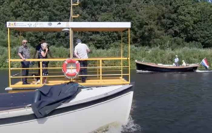 This Solar-Powered Electric Ferry Is the First Maritime Robotaxi in Europe