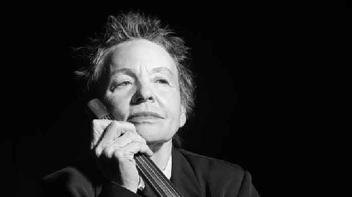 In Conversation: Laurie Anderson