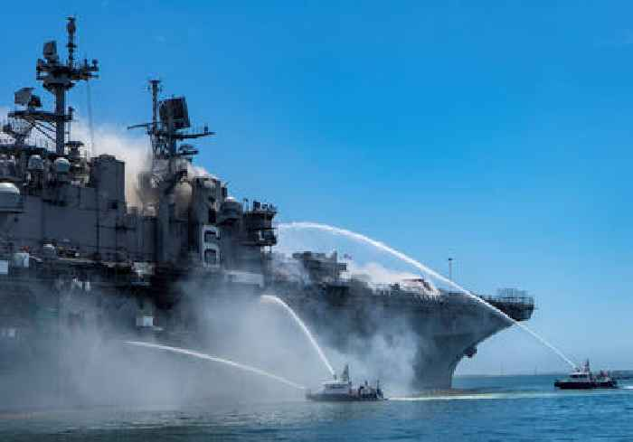 Sailor charged with arson attack on USS Bonhomme Richard missile ship