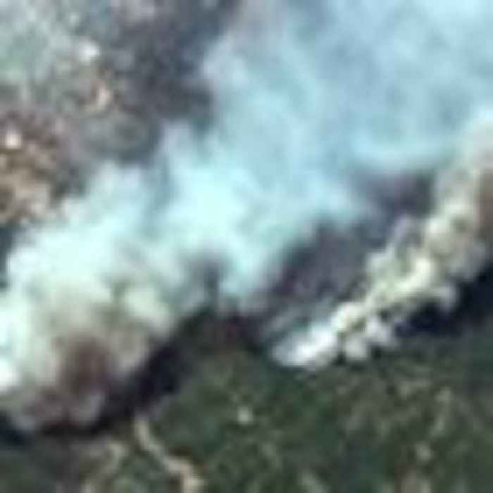 Satellite images show devastation caused by deadly wildfires in Turkey