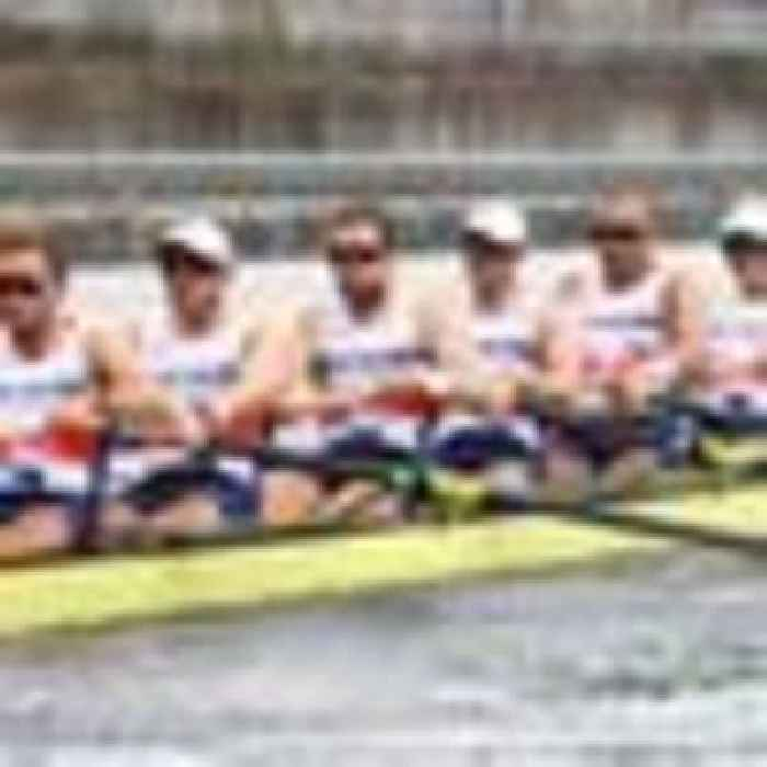 Medal rush continues as Team GB's rowers win bronze in the men's eight