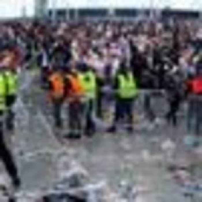 Wembley steward admits stealing lanyards for ticketless Euro fans to enter stadium