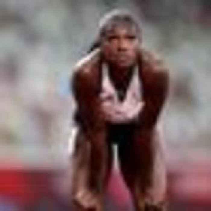 Dina Asher-Smith fails to make Olympic 100m final but teammate Daryll Neita through