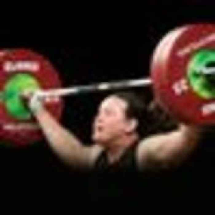 Transgender weightlifter praises Tokyo organisers for allowing her to compete in the Olympics