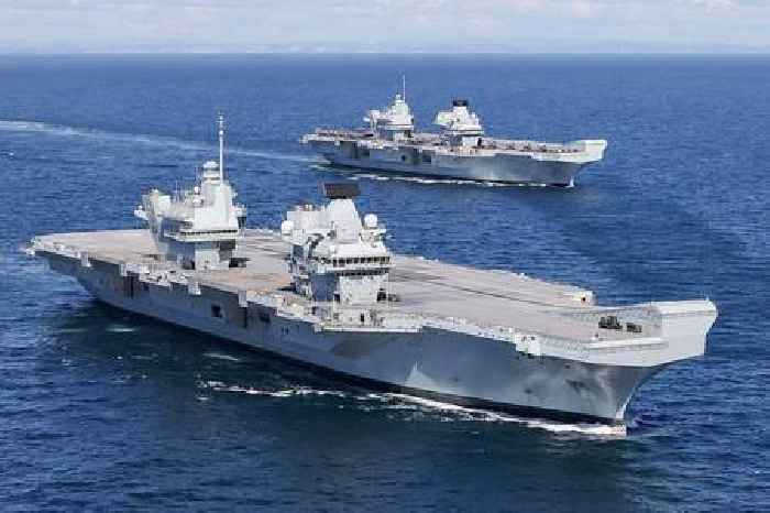 """Beijing Says the UK Seems to Be Asking for a """"Beating"""" After Carrier Queen Elizabeth Entered South China Sea"""