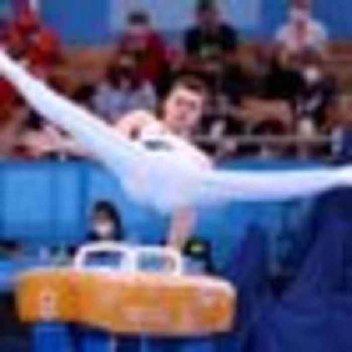 Gymnast Max Whitlock wins Olympic gold in men's pommel horse for Team GB