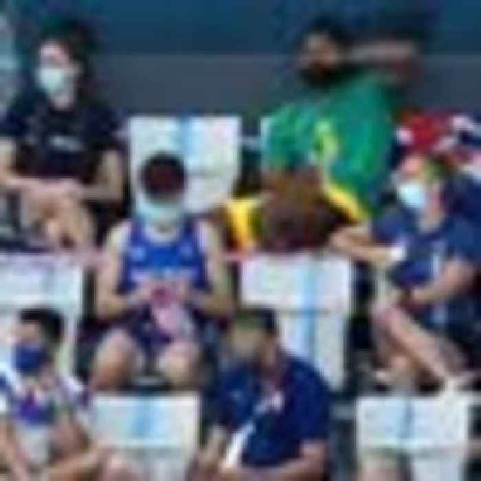 Knitting to see here! Tom Daley spotted enjoying hobby in the stands at Tokyo Olympics