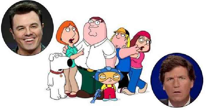 Tucker Carlson Annoys Seth MacFarlane So Much He's Considering Taking 'Family Guy' Off Fox