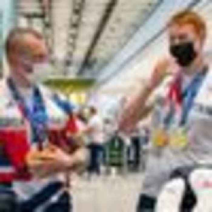 Team GB swimmers return home in glory after record Olympic medal haul in Tokyo
