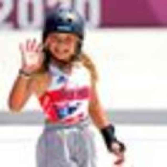 GB skateboarder Sky Brown, 13, wins bronze at Tokyo Olympics