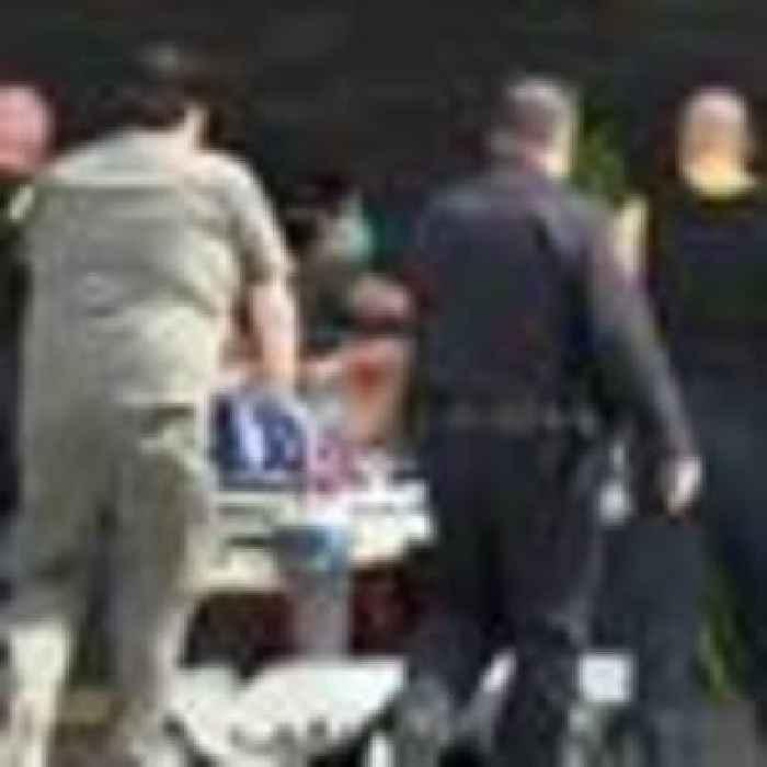 Ten people dead after overloaded van crashes in Texas