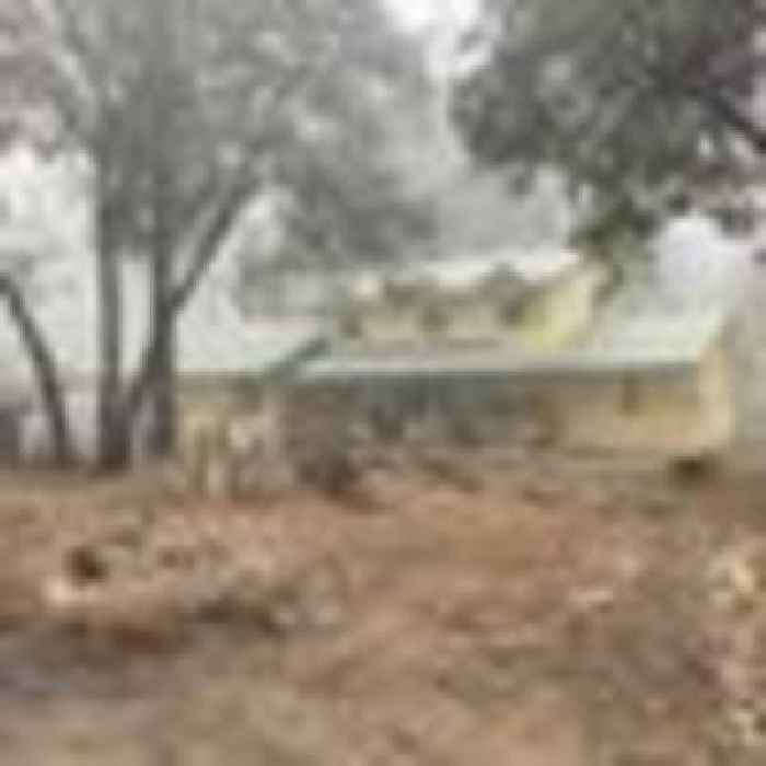 Just one house left unscathed on land scorched by California's largest single forest fire