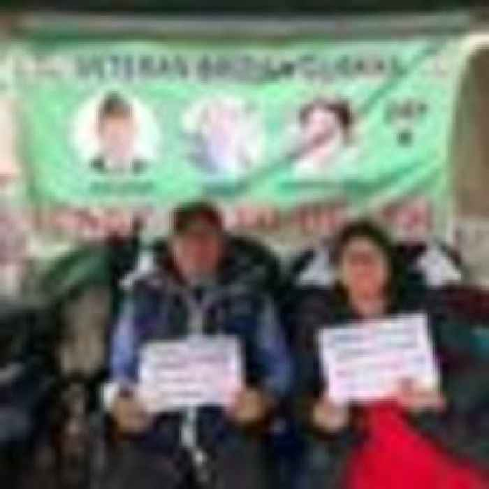 Gurkha veteran on hunger strike says he is willing to die in fight for equal pension