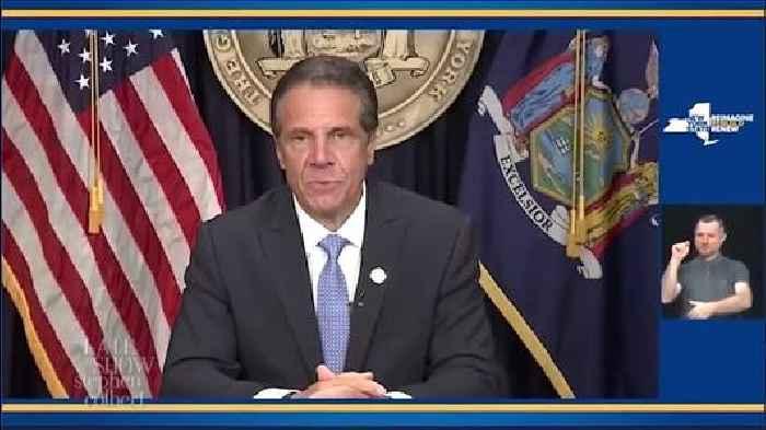 Colbert Edits Andrew Cuomo's Resignation Into a More Accurate Speech (Video)