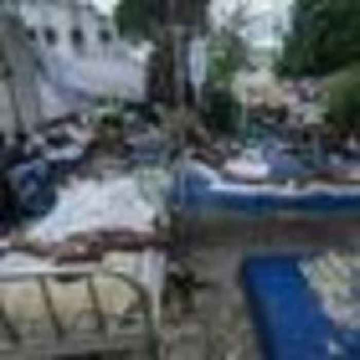 Haiti earthquake deaths rise to 1,419 as storm brings threat of mudslides and flash flooding