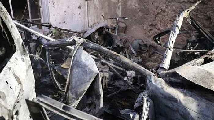 US Drone Strikes an ISIS Vehicle Packed With Explosives, Kabul International Airport Appears To Be the Target