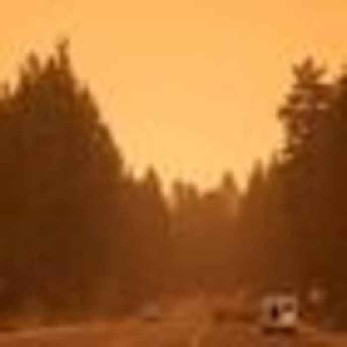 Thousands told to evacuate popular Lake Tahoe resort as wildfire nears