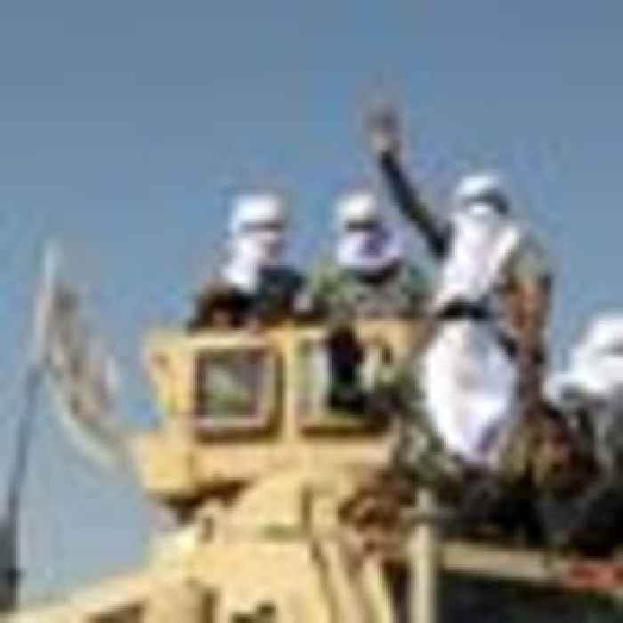 Taliban showcases military hardware seized during takeover in Afghanistan