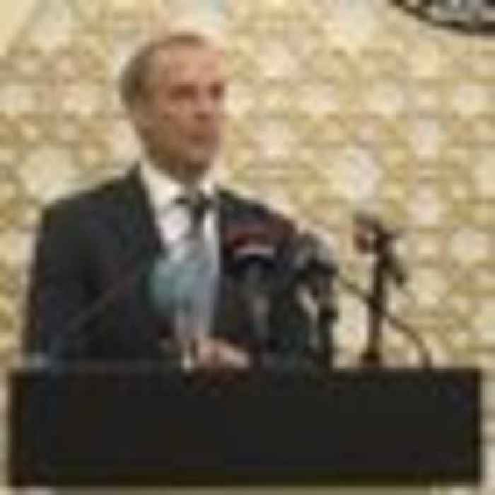 Raab says evacuations from Kabul airport could resume 'in the near future' following discussions with Qatar