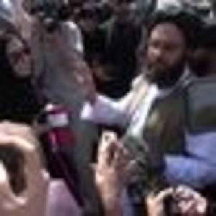 Taliban breaks up women's rights protests in Kabul with 'gunshots and teargas'