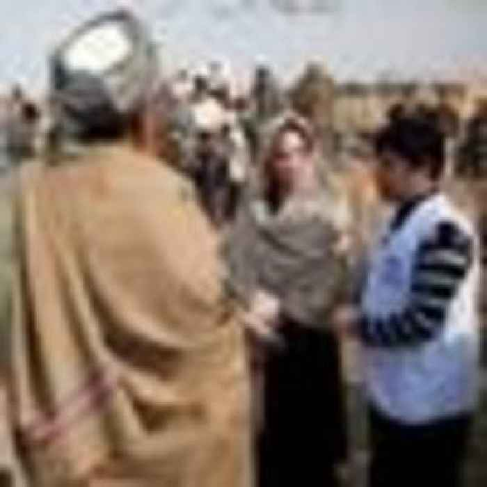 Afghanistan crisis 'stands for decades of neglect of human rights', Jolie says