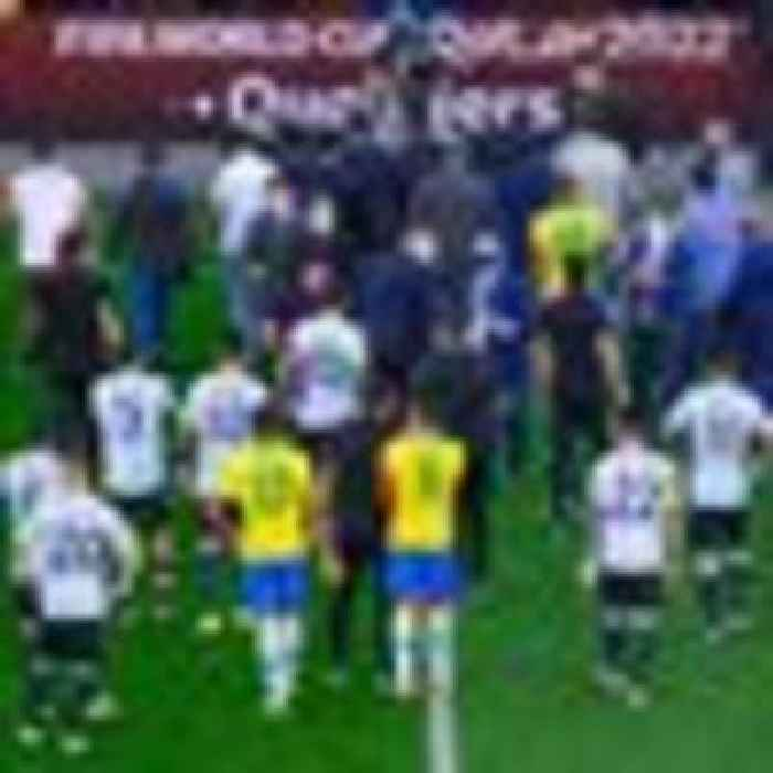 Brazil v Argentina match suspended after health officials walk on to pitch in COVID row
