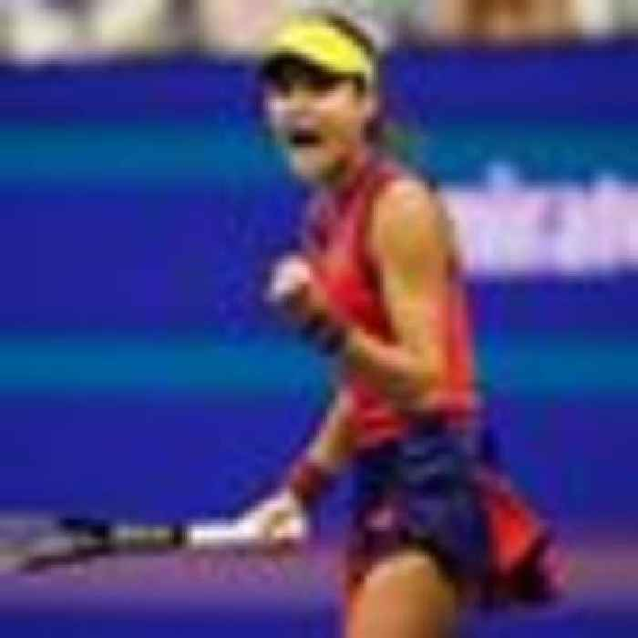Emma Raducanu through to the US Open final in straight sets