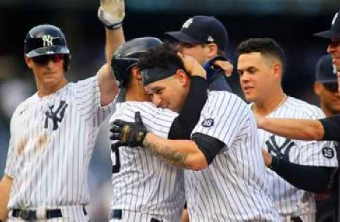 Gary Sánchez hits walk-off single in the 10th as Yankees beat Twins, 6-5