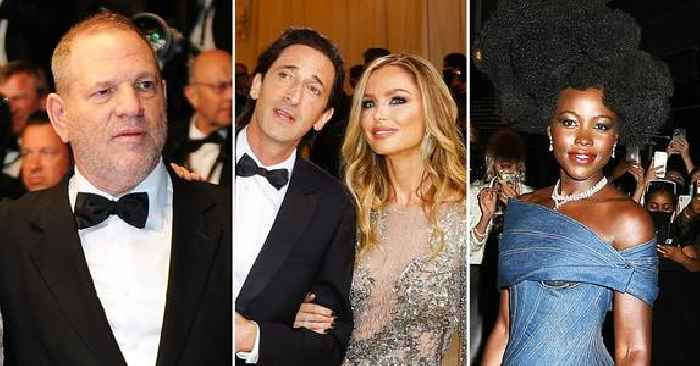 Georgina Chapman Attended The Met Gala With Boyfriend Adrien Brody As Ex-Husband Harvey Weinstein's Accuser Lupita Nyong'o Was Also In Attendance