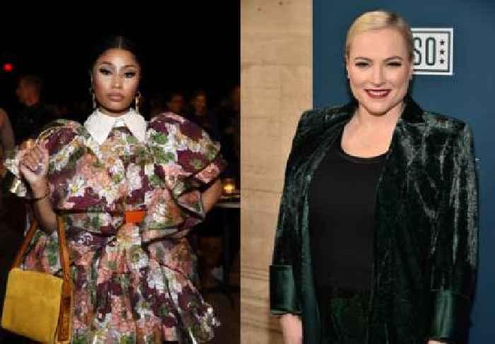 Nicki Minaj Tells Meghan McCain to 'Eat Sh*t'