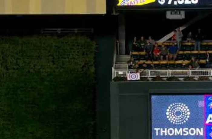 Ryan Jeffers two-run homer nails fan's sign in bleachers, Twins pad lead over Indians to 6-3