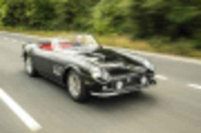 GTO Engineering Ferrari 250 GT SWB California Spyder revival remasters an icon