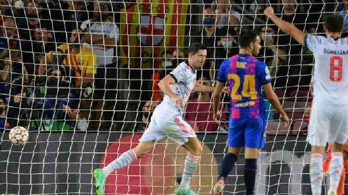 CL: Robert Lewandowski strikes twice as Bayern Munich defeat Barcelona