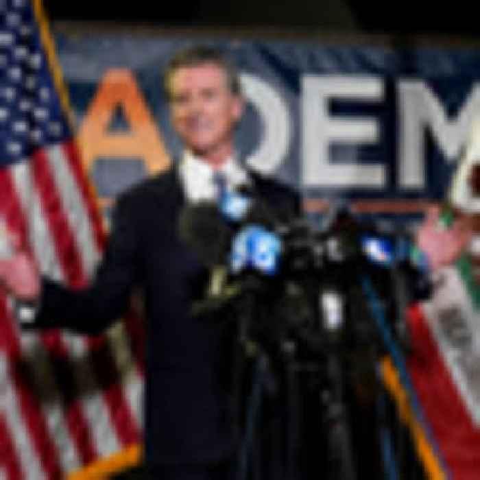 California Governor Gavin Newsom beats back opposition's recall
