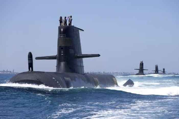 Australia to Build a Fleet of Nuclear-Powered Submarines, the U.S. and U.K. Will Help