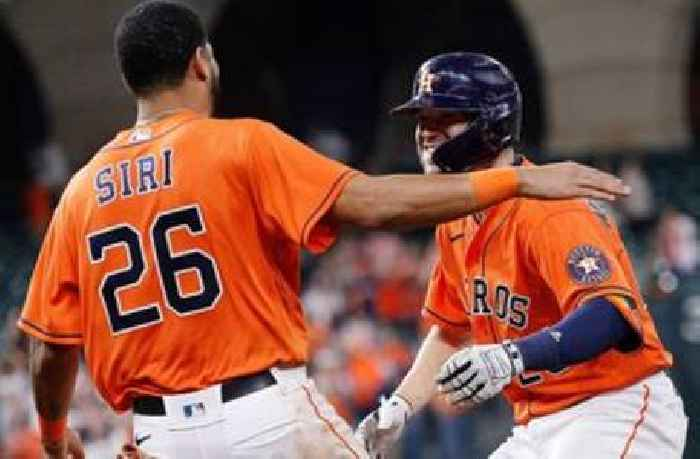 Astros beat Diamondbacks, 4-3, thanks to walk-off hit-by-pitch in the 10th