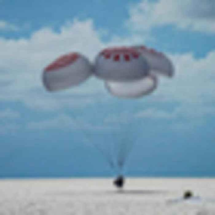 SpaceX success: Trailblazing tourist trip to orbit ends with splashdown