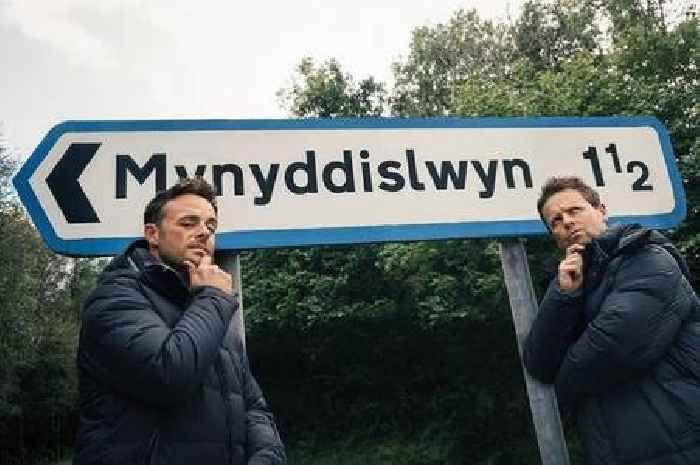 Ant and Dec drop huge I'm a Celebrity teaser as they post picture next to Welsh road sign