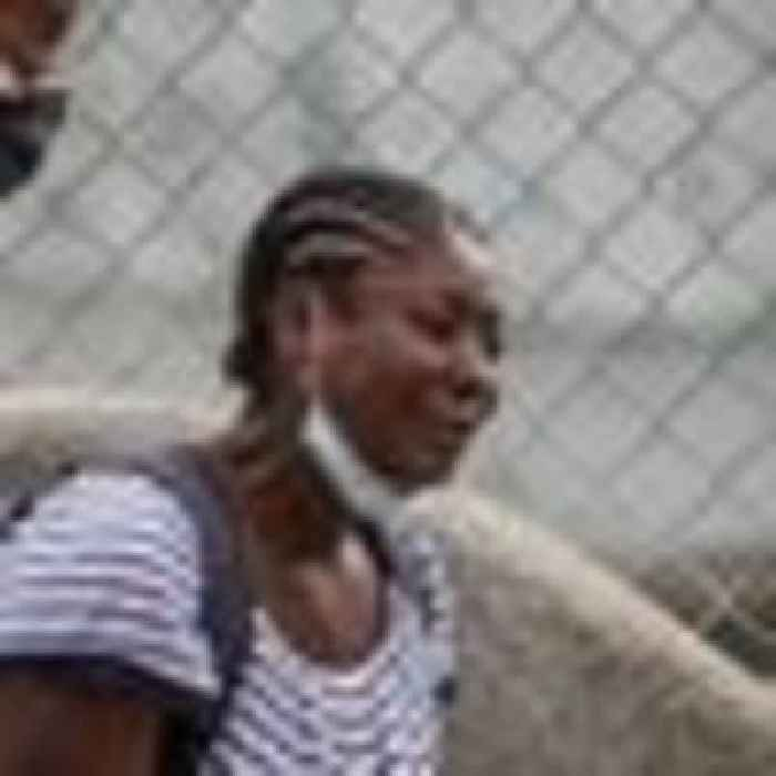 Haitians at Texas border urged to give up amid 'inhumane' deportations by US