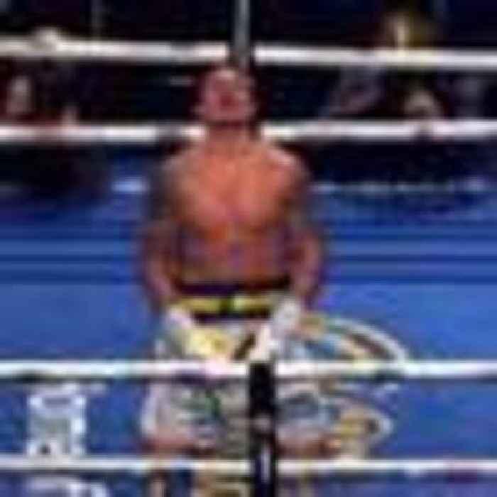 Boxing: Oleksandr Usyk stuns Anthony Joshua to claim world heavyweight title