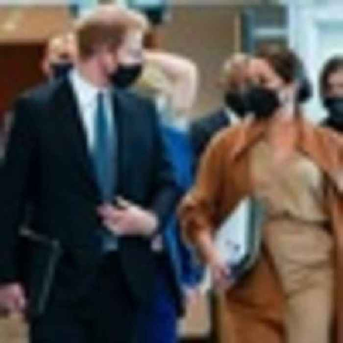 Prince Harry and Meghan visit UN during world leaders' meeting
