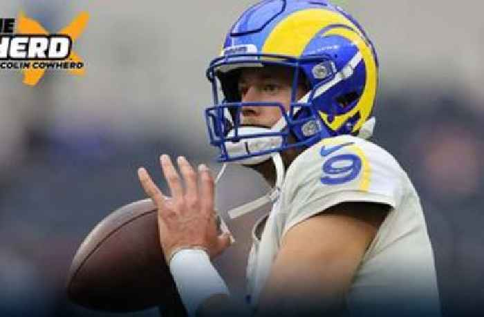 Colin Cowherd on Matthew Stafford's perfect fit with the Rams: 'That win felt massive' I THE HERD