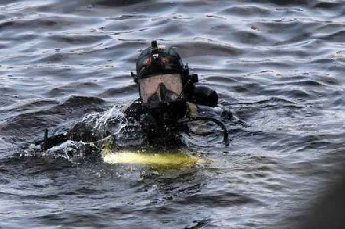 Police divers search Scottish river ahead of COP26 climate change conference